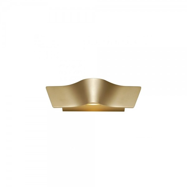 SLV 147823 Brass Wave Wall Light