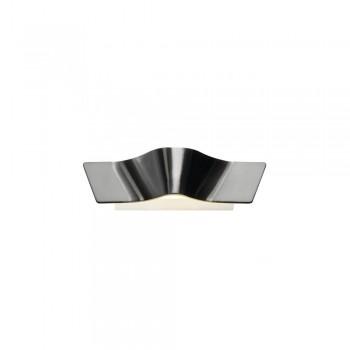SLV 147826 Aluminium Brushed Wave Wall Light