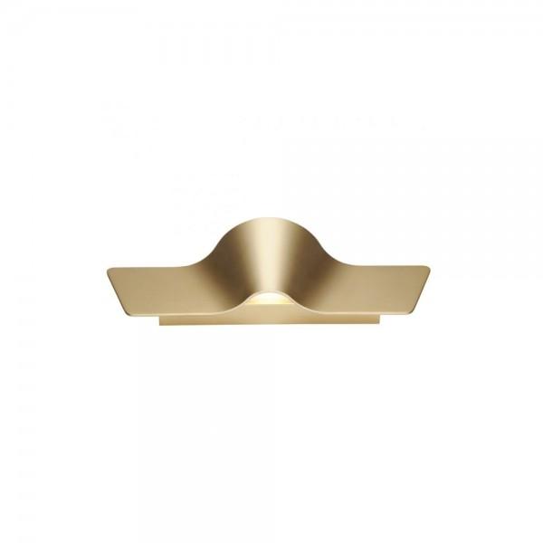 SLV 147843 Brass Wave 45 Wall Light