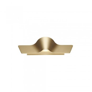 SLV 147843 Brass Wave 45 Wall Light