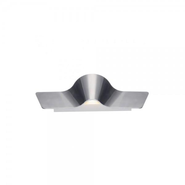 SLV 147846 Aluminium Brushed Wave 45 Wall Light