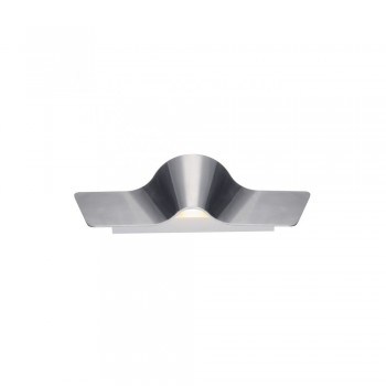 SLV 147846 Aluminium Brushed Wave 45 Wall Light