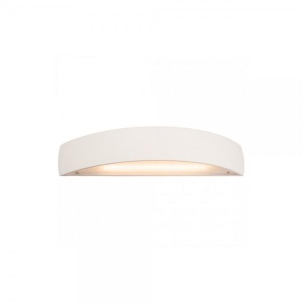 SLV 148062 White Plastra LED Curved Wall Light