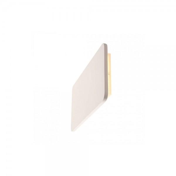 SLV 148093 White Plastra LED Rectangular Wall Light