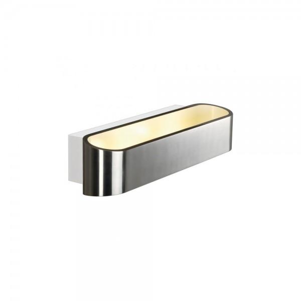 SLV 151275 Asso LED 300 Aluminium Brushed/White Wall Light