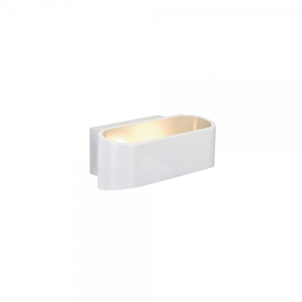 SLV 1000636 White Asso LED Dim to Warm Wall Light