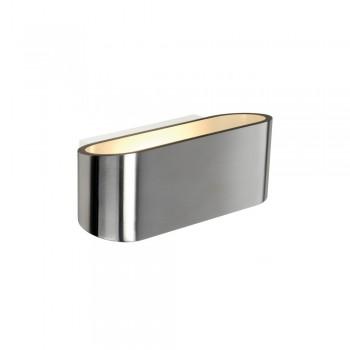 SLV 151456 Aluminium Brushed Ossa R7S Wall Light