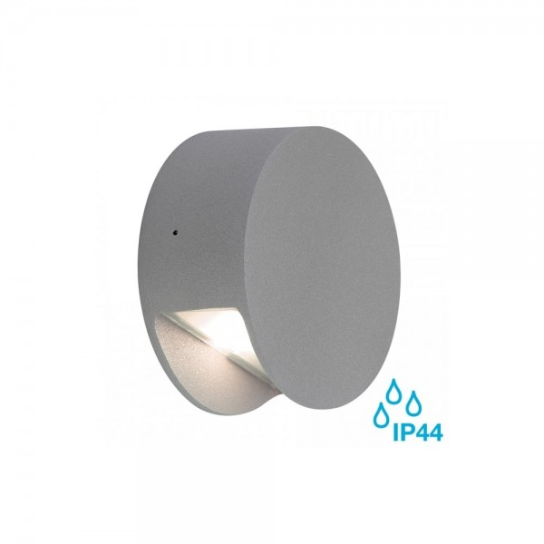 SLV 231012 Silver-Grey Pema LED Wall Light