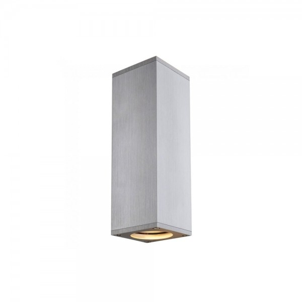 Slv 1000329 Aluminium Brushed Theo Up Down Wall Light At Love4lighting