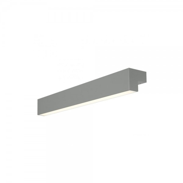 SLV 157435 Grey L-Line 60 LED Wall/Ceiling Light