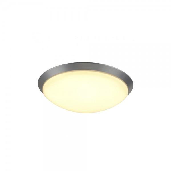 SLV 134343 Brushed Aluminium Moldi 46 LED Sensor Ceiling Light