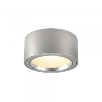 SLV 161464 Silver-Grey LED Surface Spotlight Ceiling Light