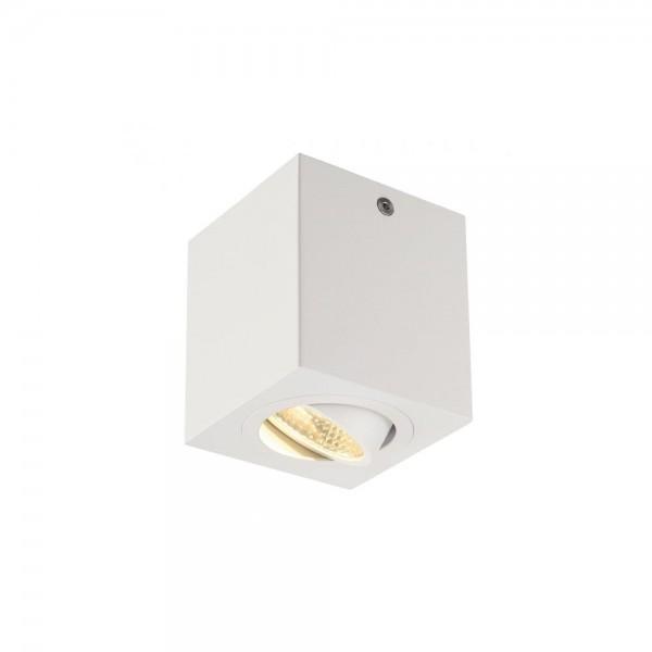 SLV 113941 Matt White Triledo Square CL LED Ceiling Light