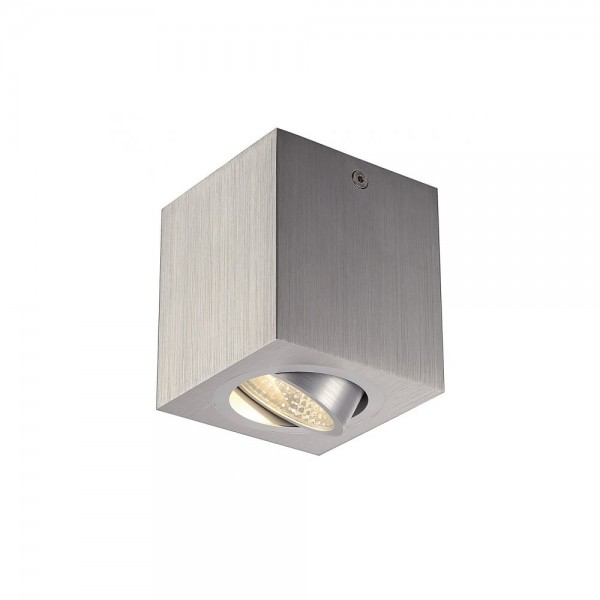 SLV 113946 Brushed Aluminium Triledo Square CL LED Ceiling Light