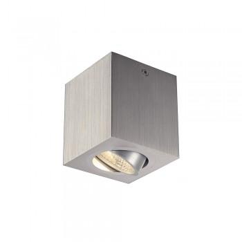 SLV 113946 Brushed Aluminium Triledo Square CL LED Ceiling Light