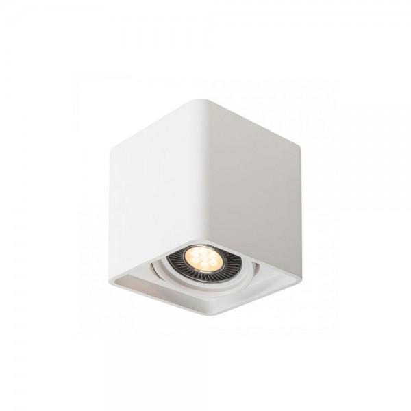 SLV 148081 White Plastra QPAR111 Single Ceiling Light