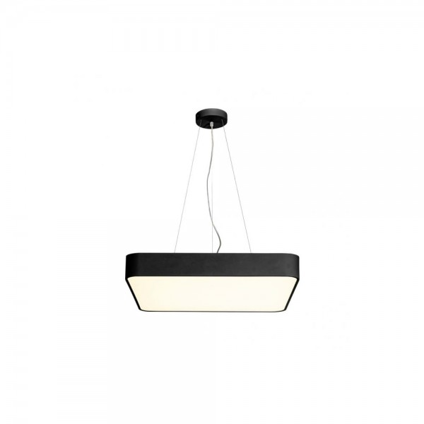 SLV 1000725 Black Medo 60 Square 1-10V Dimmable LED Ceiling Light