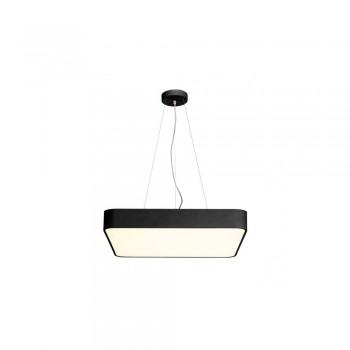 SLV 1000725 Black Medo 60 Square 1-10V Dimmable LED Ceiling Light