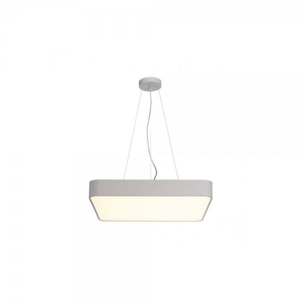 SLV 1000727 Silver Medo 60 Square 1-10V Dimmable LED Ceiling Light