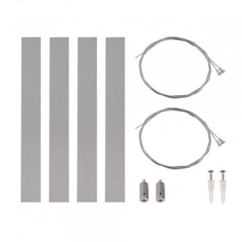 SLV 158969 Silver-Grey Suspension Set for Rasto