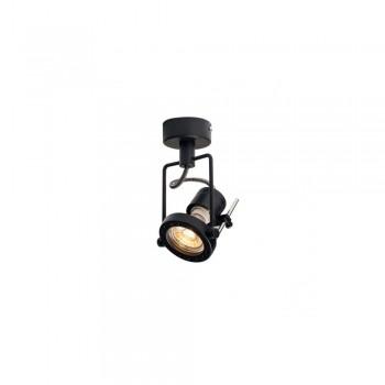 SLV 1000705 Matt Black N-Tic Spot QPAR51 Wall/Ceiling Light