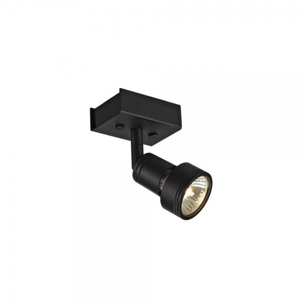 SLV 147360 Matt Black Puri 1 Wall/Ceiling Light