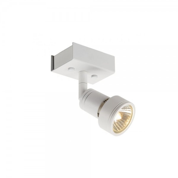 SLV 147361 Matt White Puri 1 Wall/Ceiling Light