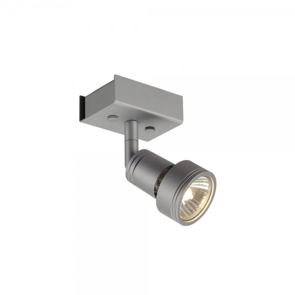 SLV 147364 Silver-Grey Puri 1 Wall/Ceiling Light