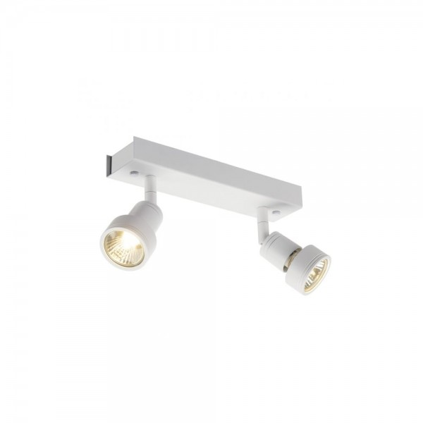 SLV 147371 Matt White Puri 2 Wall/Ceiling Light