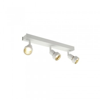 SLV 147381 Matt White Puri 3 Wall/Ceiling Light
