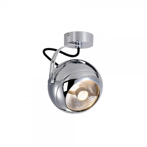 SLV 149042 Chrome Light Eye Wall/Ceiling Light