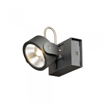 SLV 1000127 Black Kalu 1 60 º LED Wall/Ceiling Light