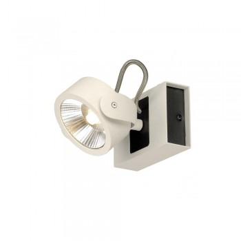 SLV 1000112 White/Black Kalu 1 24 º LED Wall/Ceiling Light