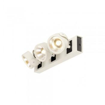 SLV 1000132 White/Black Kalu 3 60 º LED Wall/Ceiling Light