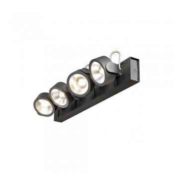 SLV 1000133 Black Kalu 4 60 º LED Wall/Ceiling Light