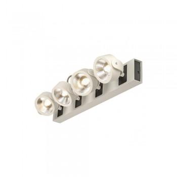 SLV 1000134 White/Black Kalu 4 60 º LED Wall/Ceiling Light