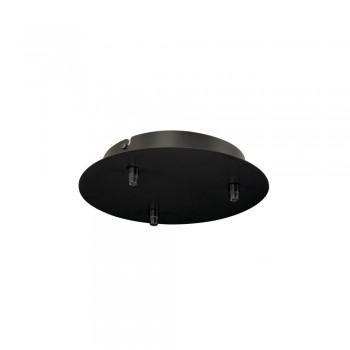 SLV 132610 Black Fitu Triple Ceiling Canopy