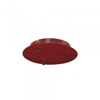 SLV 132616 Wine Red Fitu Triple Ceiling Canopy
