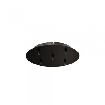 SLV 132620 Black Fitu Quintuple Ceiling Canopy