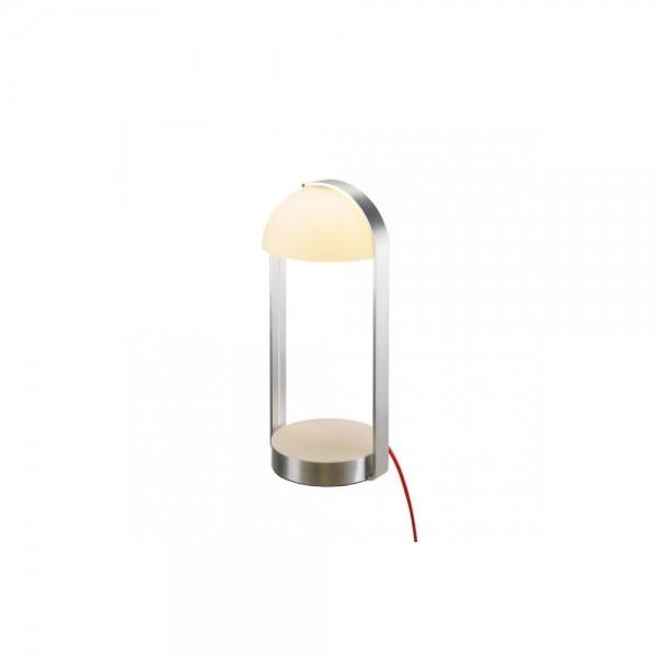 SLV 146101 White/Silver Brenda LED Table Lamp