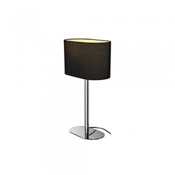 SLV 155840 Black Soprana Oval TL-1 Table Lamp