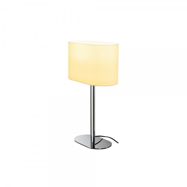 SLV 155841 White Soprana Oval TL-1 Table Lamp