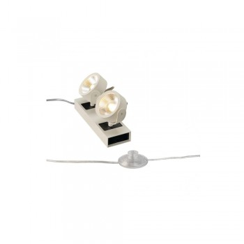 SLV 1000126 White Kalu LED 2 Floor Light 24 º