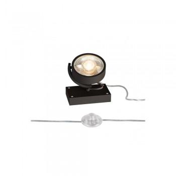 SLV 1000722 Black Kalu 1 QPAR111 Floor Light
