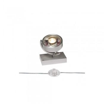 SLV 1000724 Brushed Aluminium Kalu 1 QPAR111 Floor Light