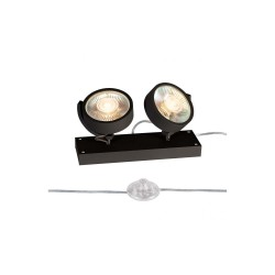 SLV 1000923 Black Kalu 2 QPAR111 Floor Light