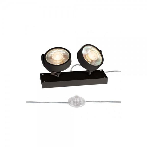 SLV 1000923 Black Kalu 2 QPAR111 Floor Light
