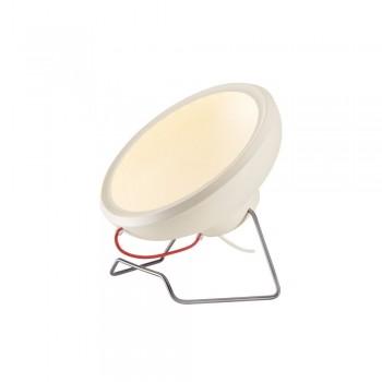 SLV 156321 Matt White I-Ring LED Floor Light