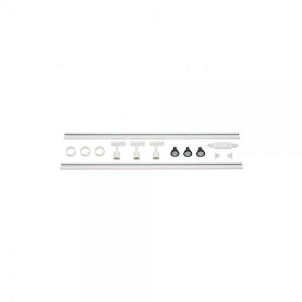 SLV 143191 White 1-Circuit Track set Puri LED