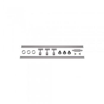 SLV 143194 Silver-Grey 1-Circuit Track set Puri LED